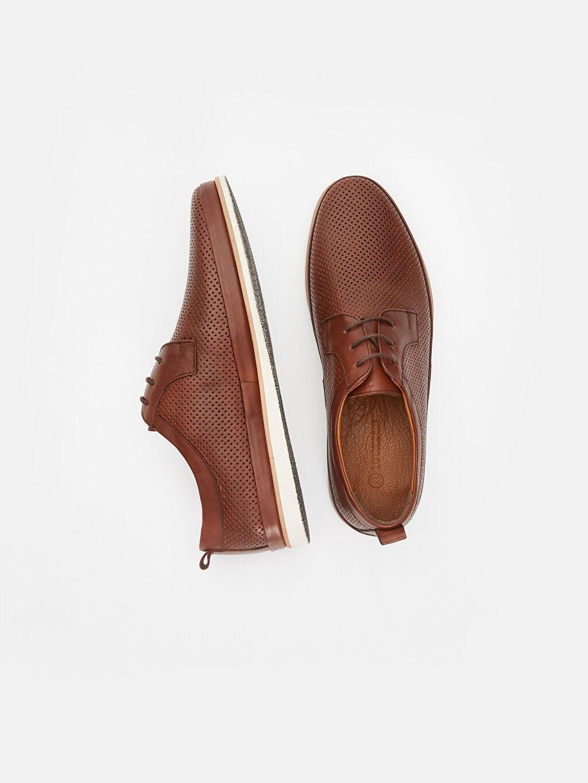 Deri  Erkek Bağcıklı Deri Ayakkabı