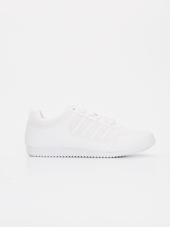 Beyaz Letoon Erkek Bağcıklı Spor Ayakkabı 9SY952Z8 LC Waikiki