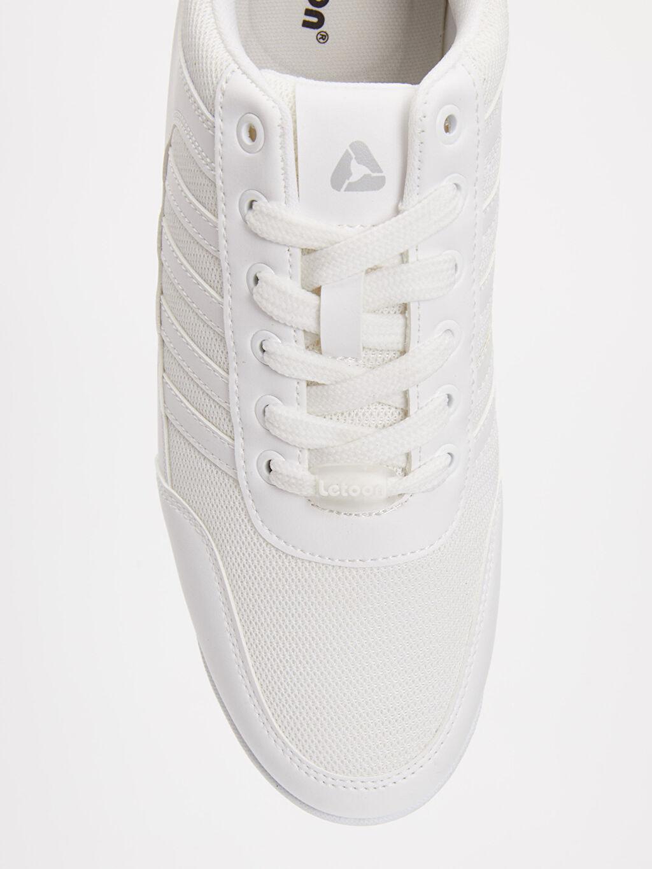 LC Waikiki Beyaz Letoon Erkek Bağcıklı Spor Ayakkabı