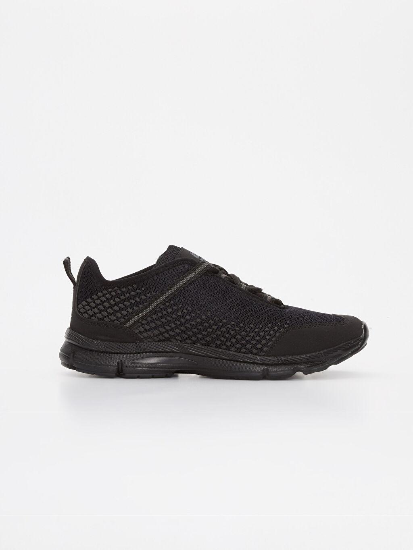 Siyah Letoon Erkek Bağcıklı Spor Ayakkabı 9SY992Z8 LC Waikiki