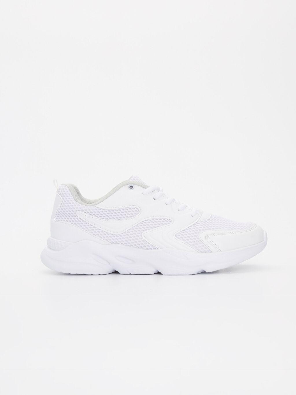 Beyaz Letoon Erkek Bağcıklı Spor Ayakkabı 9SA106Z8 LC Waikiki