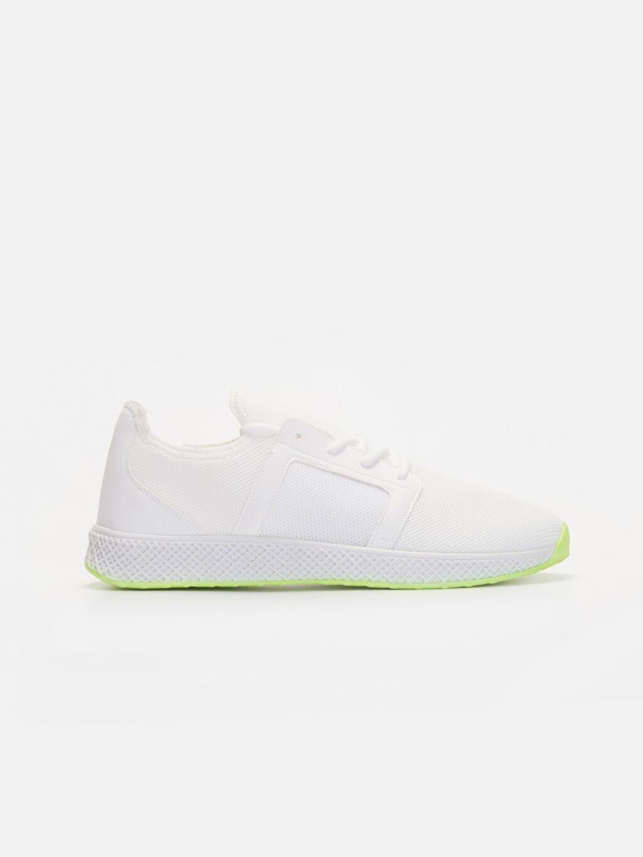 Beyaz Erkek Bağcıklı Aktif Spor Ayakkabı 9SA799Z8 LC Waikiki
