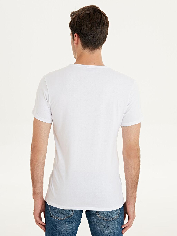 %100 Pamuk Marvel Baskılı Kısa Kollu Pamuklu Tişört