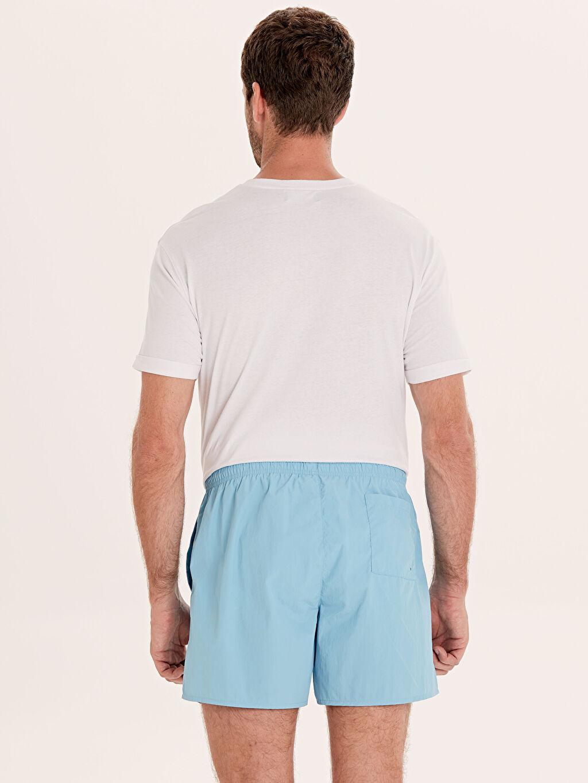 %100 Polyamide %100 U:  POLYAMIDE %100 Polyester  Kısa Boy Basic Deniz Şortu