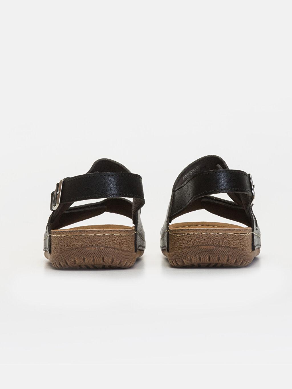 Erkek Çift Bantlı Kalın Taban Sandalet