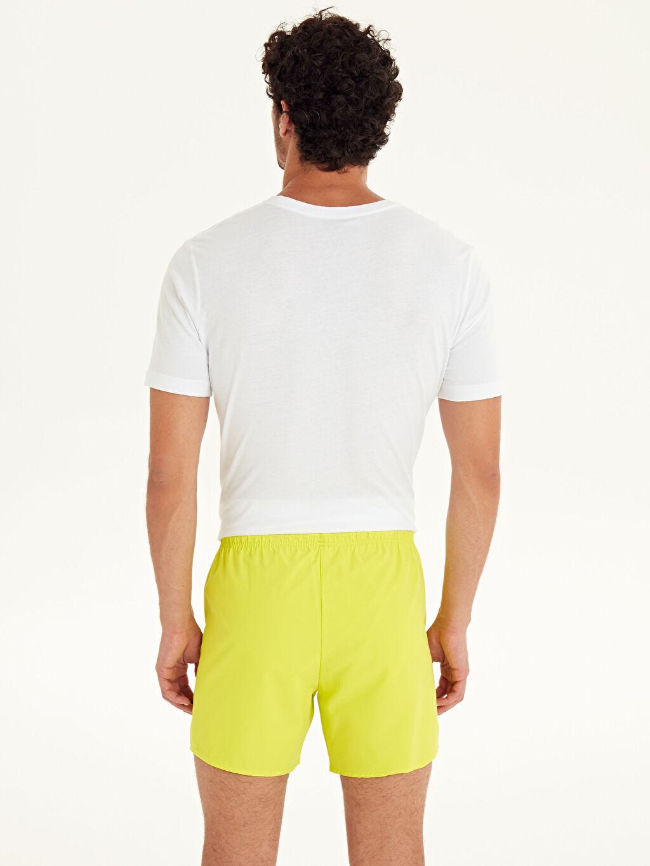 %100 Polyester %100 Polyester  Kısa Boy Basic Deniz Şortu