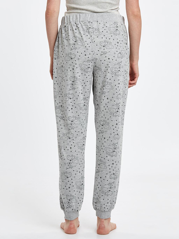 Kadın Desenli Jogger Pijama Altı