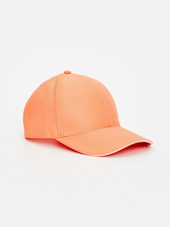 Mercan Yazı Baskılı Neon Şapka 9S1641Z8 LC Waikiki