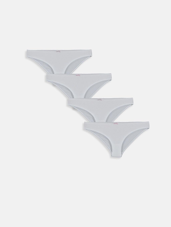 Beyaz Pamuklu Klasik Külot 4'lü 9S2318Z8 LC Waikiki