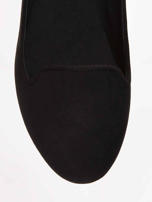 LC Waikiki Siyah Kadın Babet Ayakkabı