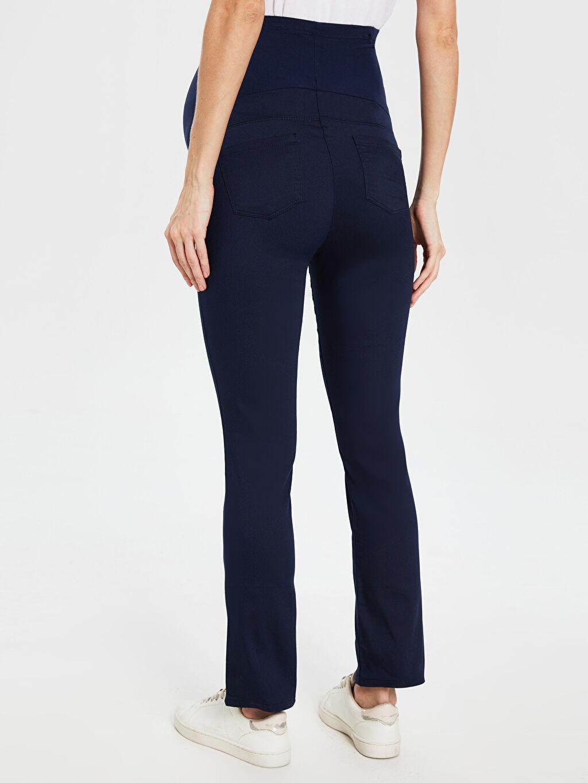%66 Pamuk %30 Polyester %4 Elastan Pantolon