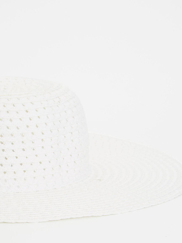 %13 Poliester %87 Kağıt  Hasırlı Fötr Şapka