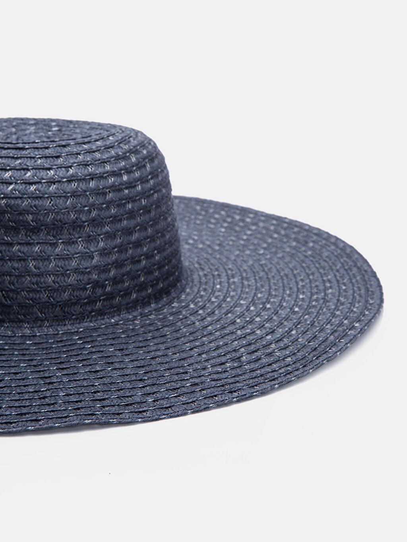 %13 Polyester %87 Kağıt  Hasırlı Fötr Şapka