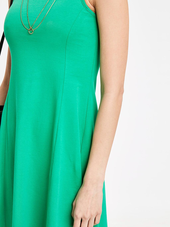 Kadın Sırt Detaylı Pamuklu Elbise