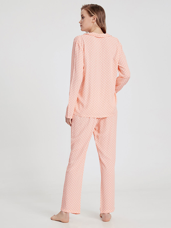 Kadın Puantiyeli Pijama Takımı
