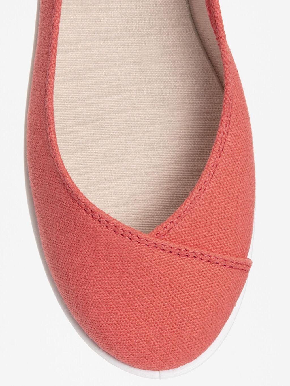LC Waikiki Kırmızı Kadın Babet Ayakkabı