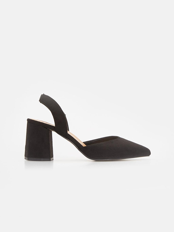 Siyah Kadın Topuklu Ayakkabı 9SM962Z8 LC Waikiki