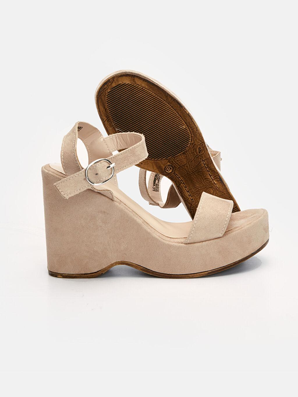 Kadın Kadın Dolgu Topuk Sandalet