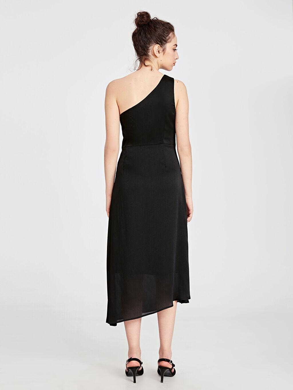 Kadın Tek Omuz Asimetrik Abiye Elbise