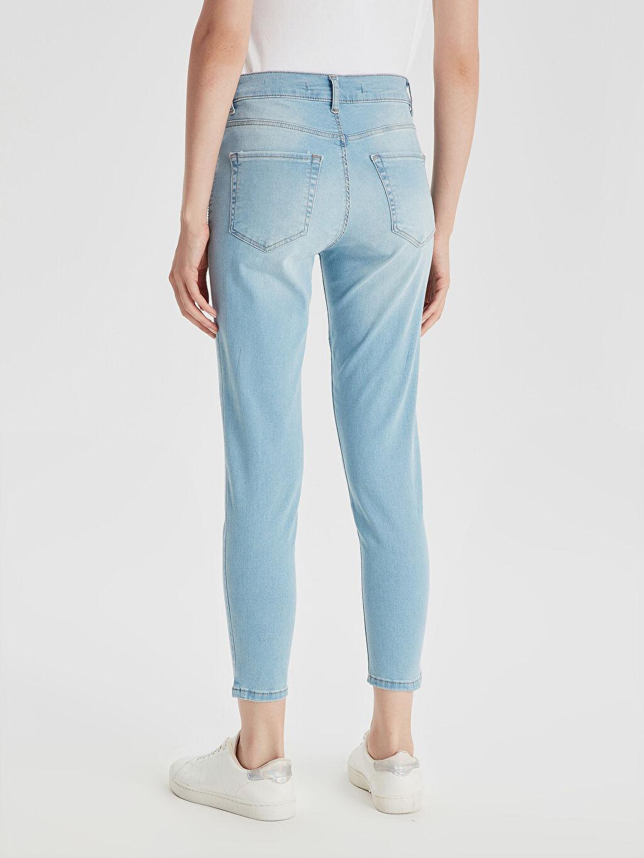 Kadın Bilek Boy Slim Jean Pantolon