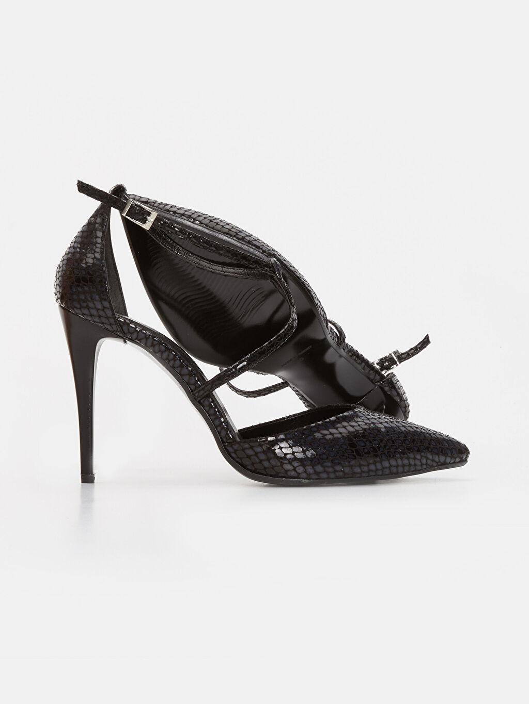 Kadın Kadın Çapraz Bantlı Stiletto Ayakkabı
