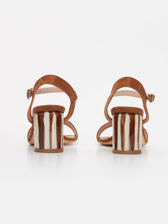 Kadın Topuklu Şık Sandalet