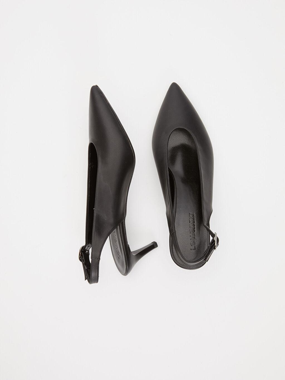 Diğer malzeme (poliüretan) Diğer malzeme (poliüretan)  Kadın İnce Topuklu Ayakkabı
