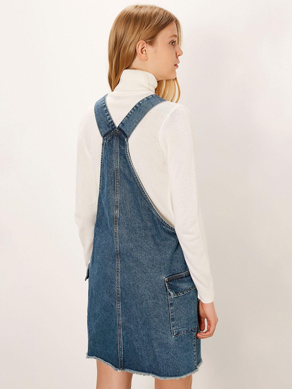 Kadın Jean Salopet Elbise