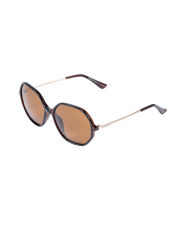 Kahverengi Daniel Klein Kadın Güneş Gözlüğü 9SB450Z8 LC Waikiki
