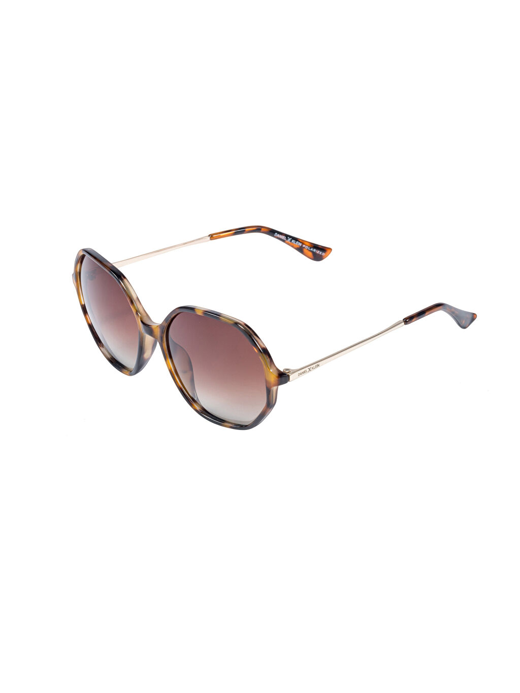 Kahverengi Daniel Klein Kadın Güneş Gözlüğü 9SB451Z8 LC Waikiki
