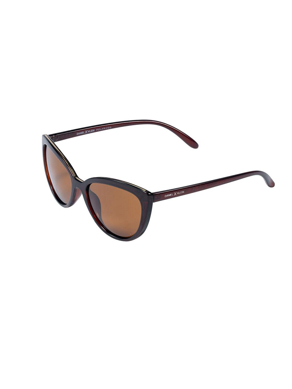 Kahverengi Daniel Klein Kadın Güneş Gözlüğü 9SB453Z8 LC Waikiki