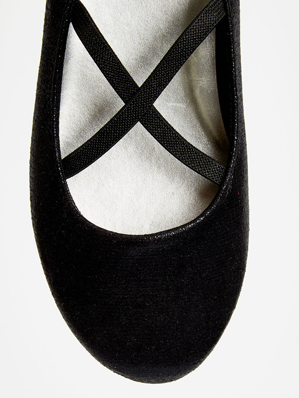 LC Waikiki Siyah Kız Çocuk Babet Ayakkabı
