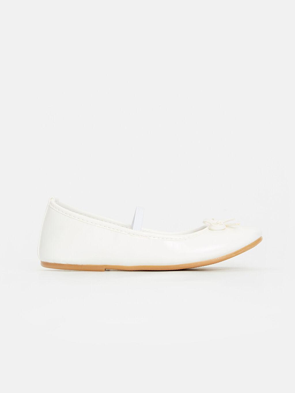 Beyaz Kız Çocuk Babet Ayakkabı 9S0279Z4 LC Waikiki