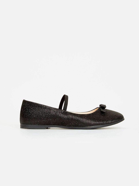 Siyah Kız Çocuk Babet Ayakkabı 9S0281Z4 LC Waikiki