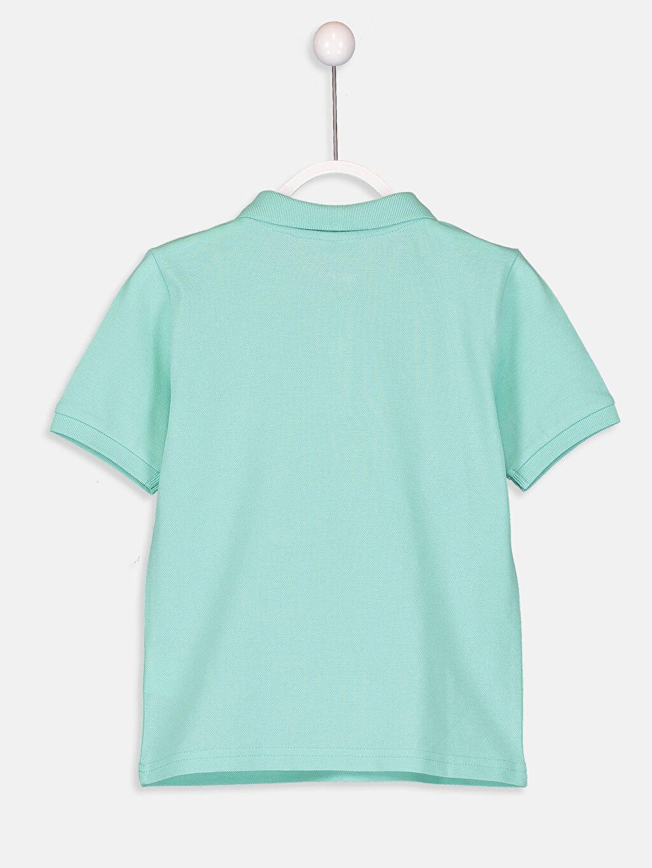 %100 Pamuk Düz Normal Tişört Polo Erkek Çocuk Polo Yaka Pamuklu Basic Tişört