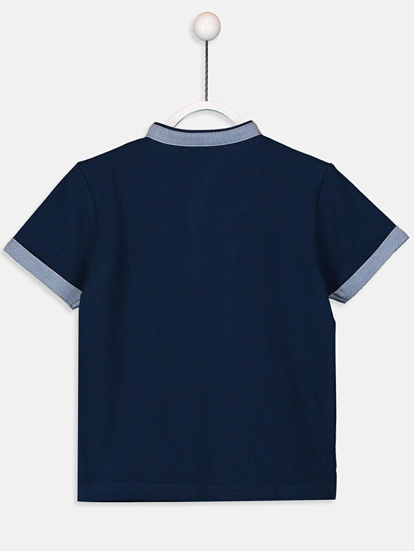 %100 Pamuk Düz Normal Tişört Diğer Erkek Çocuk Pamuklu Basic Tişört