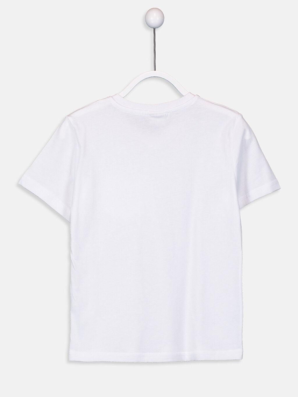 %100 Pamuk Düz Normal Tişört V yaka Kısa Kol Erkek Çocuk Pamuklu Basic Tişört