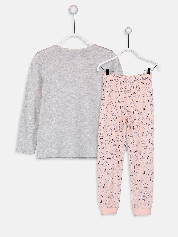 %49 Pamuk %51 Polyester Standart Pijamalar Kız Çocuk Pamuklu Pijama Takımı