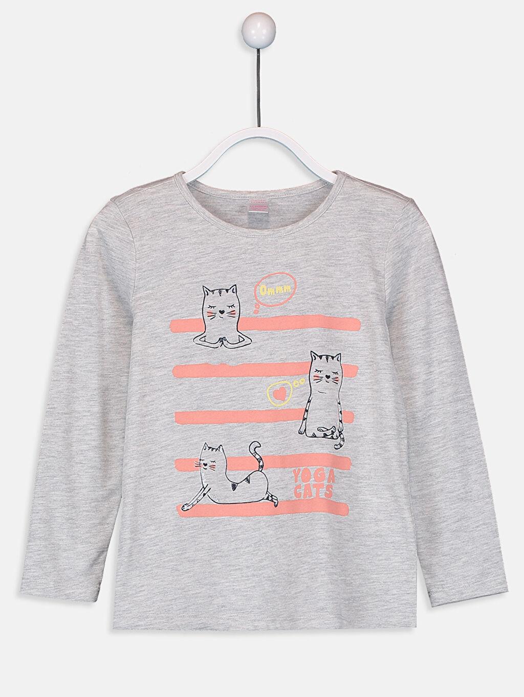 Kız Çocuk Kız Çocuk Pamuklu Pijama Takımı