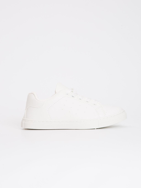 Beyaz 23 Nisan Erkek Çocuk Spor Ayakkabı 9S2634Z4 LC Waikiki