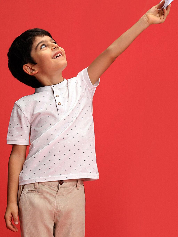 Erkek Çocuk 23 Nisan Erkek Çocuk Puantiyeli Tişört