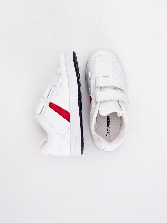 Diğer malzeme (poliüretan) Tekstil malzemeleri Ayakkabı 23 Nisan Cırt Cırtlı Spor Ayakkabı