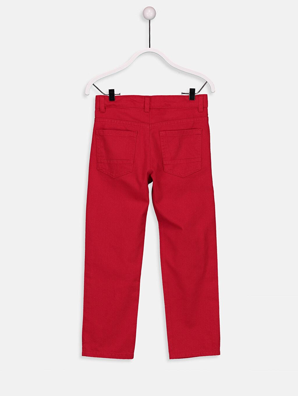 %100 Pamuk Normal Normal Bel 23 Nisan Erkek Çocuk Standart Kalıp Pantolon