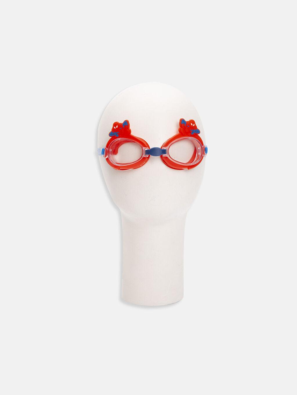 %100 Diğer  Erkek Çocuk Spıderman Desenli Deniz Gözlüğü