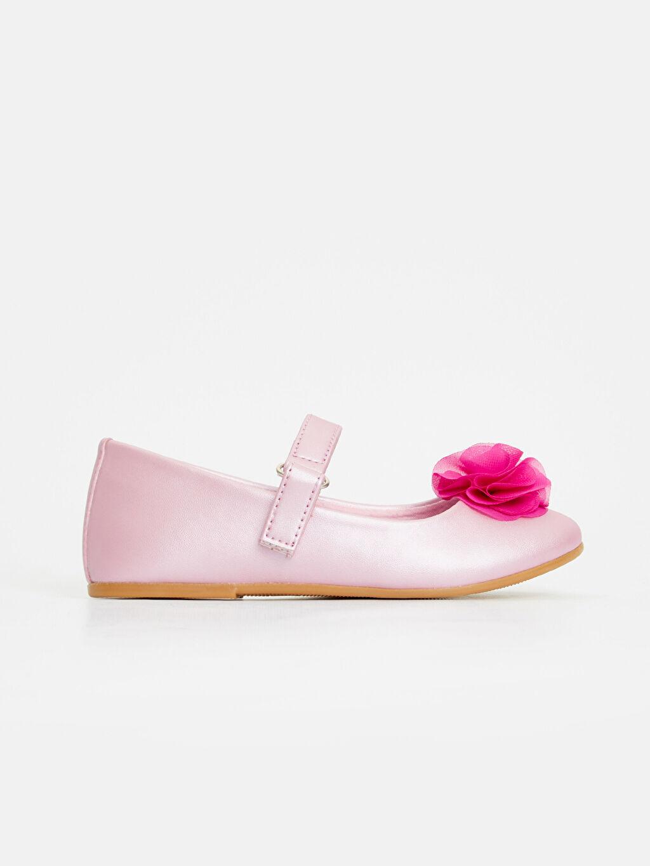 Pembe 23 Nisan Kız Çocuk Babet Ayakkabı 9S5503Z4 LC Waikiki