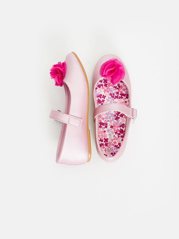%0 Diğer malzeme (poliüretan) Ayakkabı 23 Nisan Kız Çocuk Babet Ayakkabı