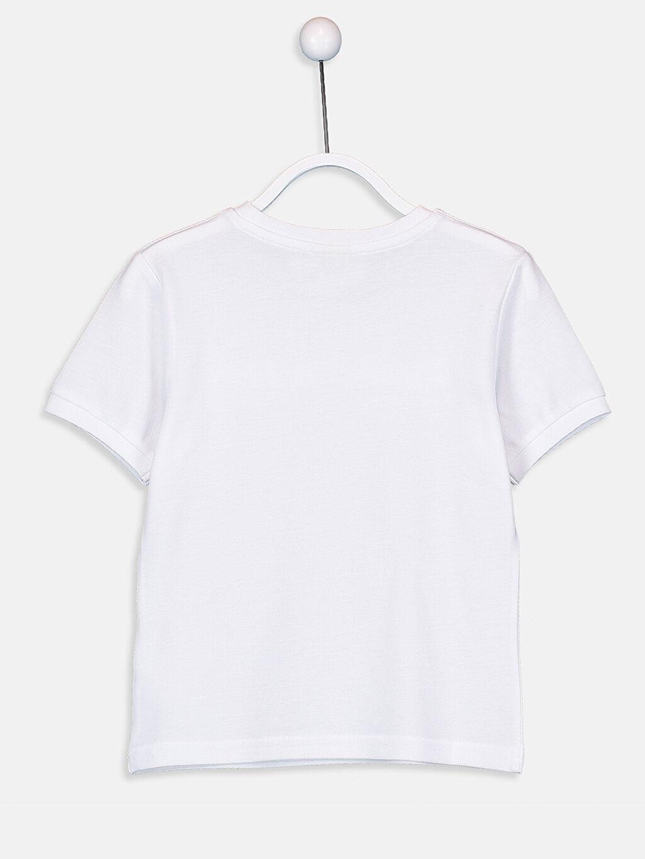 %100 Pamuk Düz Normal Tişört Bisiklet Yaka Kısa Kol Erkek Çocuk Pamuklu Basic Tişört