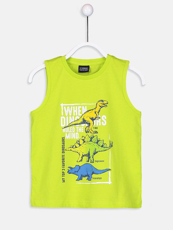 %100 Pamuk %100 Polyester %100 Polyester Takım Erkek Çocuk Baskılı Yüzme Takım
