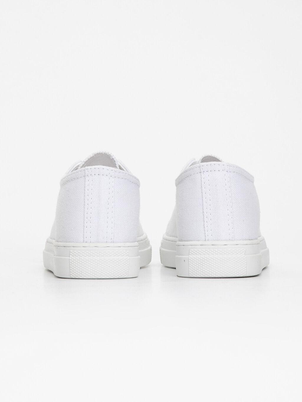 Kız Çocuk Bağcıklı Sneaker Ayakkabı