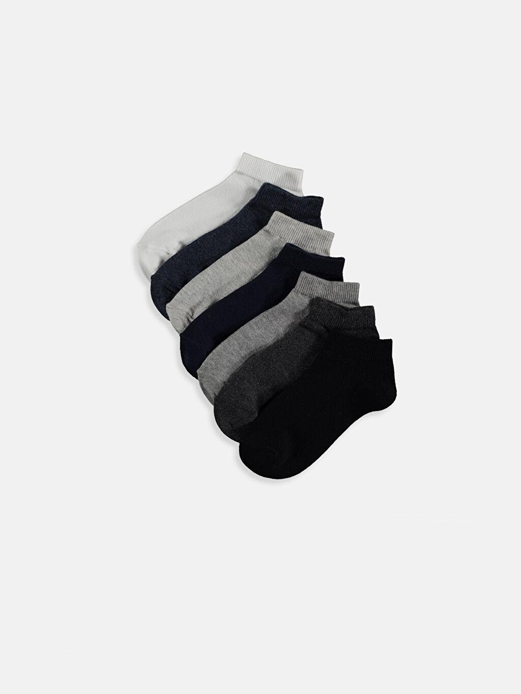 Çok Renkli Erkek Çocuk Patik Çorap 7'li 9S6354Z4 LC Waikiki